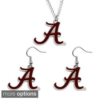 Sports Team Logo Necklace and Dangle Earring Charm Gift Set|https://ak1.ostkcdn.com/images/products/9607634/P16793226.jpg?impolicy=medium