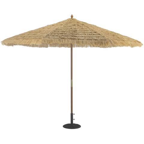 Tropishade 11-foot Light Wood Patio Umbrella