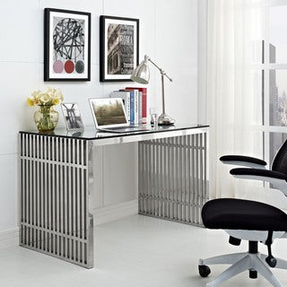 Gridiron Stainless Steel Desk