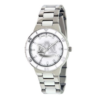 Game Time Women's Auburn Tigers Logo Pearl Watch