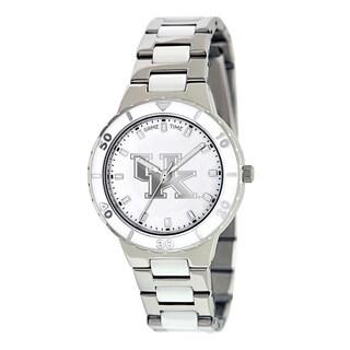 Game Time Women's Kentucky Wildcats Logo Pearl Watch