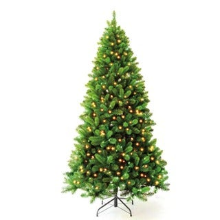 7-foot 6-inch Pre-lit Charlotte Spruce