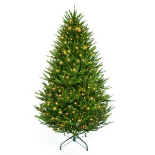 7-foot 6-inch Pre-lit Boston Spruce