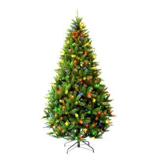 6-foot 6-inch Pre-lit Carolina Pine