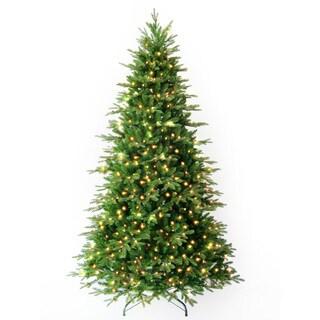 6-foot 6-inch Pre-lit Alaskan Spruce