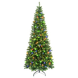 7-foot 6-inch Pre-lit New England Pine