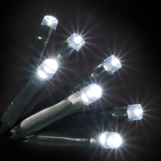 100 LED White Lights UL Standard