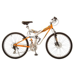 Link to Titan Fusion-Pro Alloy Dual-Suspension All-Terrain Unisex 21-speed Mountain Bike with Disc Brakes Similar Items in Cycling Equipment