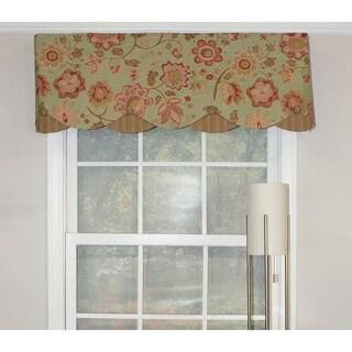 RLF Home Dream Flower Petticoat Window Valance
