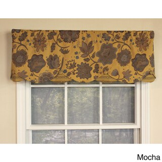 RLF Home Dream Flower Petticoat Window Valance