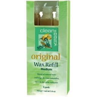 Clean and Easy Medium Original Wax Refill (Pack of 3)
