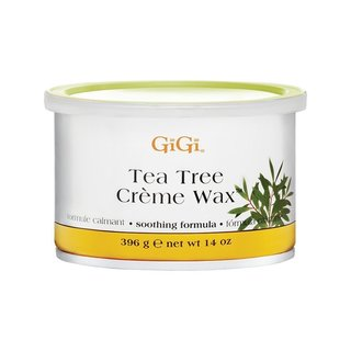 Gigi Tea Tree 14-ounce Creme Wax