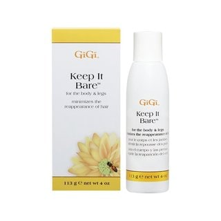 Gigi Keep It Bare 4-ounce Body Lotion