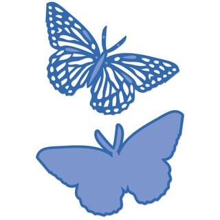"""Kaisercraft Die-Butterflies 3.25""""X1.75""""-3.25""""X1.75"""""""