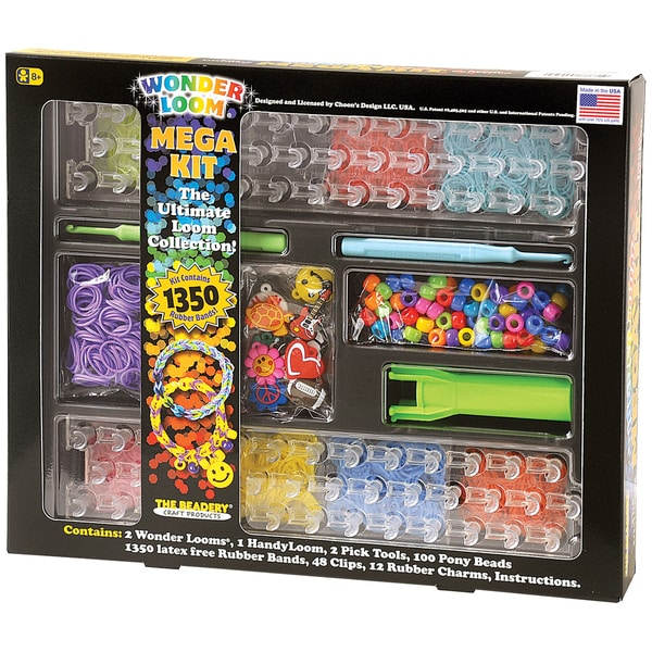 Shop The Ultimate Wonder Loom Mega Kit Free Shipping On