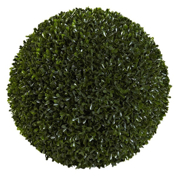 Decorative Boxwood Balls Best 14Inch Decorative Boxwood Ball  Free Shipping Today  Overstock Decorating Design
