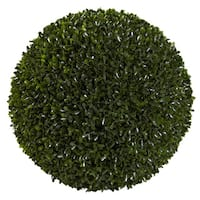 14-inch Decorative Boxwood Ball