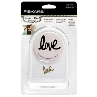 Fiskars Teresa Collins Intricate Shape Punch-Love