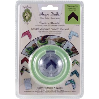 Epiphany Crafts Shape Studio Tool-Chevron