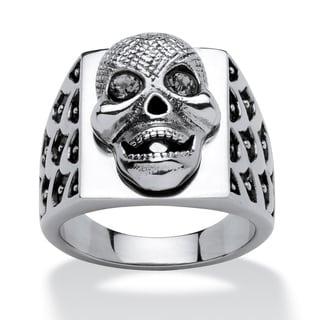 PalmBeach Men's Skull Ring in Stainless Steel