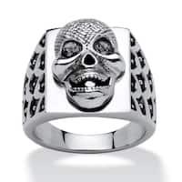 Men's Skull Ring in Stainless Steel