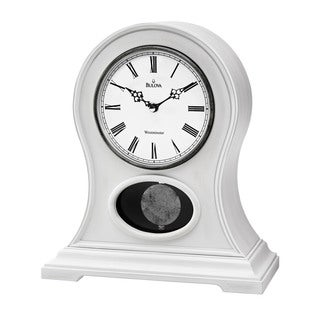 Bulova Allarie II Chiming Mantel Clock