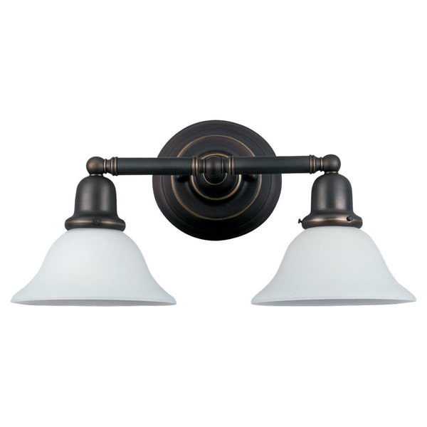 Sea Gull Lighting Two-light Sussex Wall/ Bath Sconce