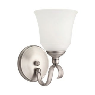 Sea Gull Parkview 1-light Antique Brushed Nickel Wall Sconce