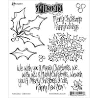 """Dyan Reaveley's Dylusions Cling Stamp Collections 8.5""""X7""""-Holly Days"""