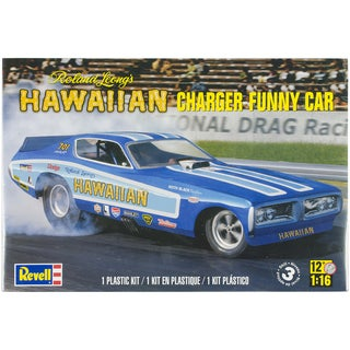Plastic Model Kit-Hawaiian Charger Funny Car 1/16