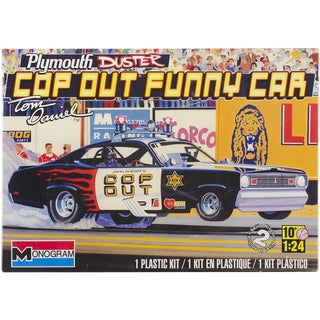 Plastic Model Kit-Plymouth Duster Cop Out Car 1/24