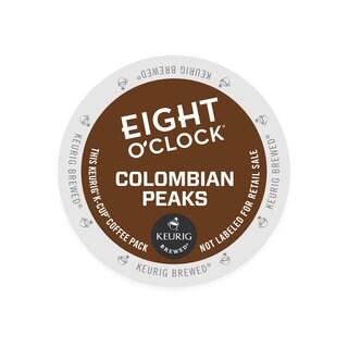 Eight O'Clock 100-percent Colombian Coffee