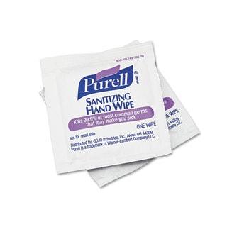 Purell Sanitizing Hand Wipes/ 5 x 7 (Box of 100)