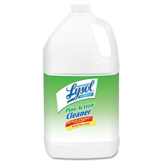 Professional Lysol Brand Disinfectant Pine Action Cleaner/ 1-gallon Bottle