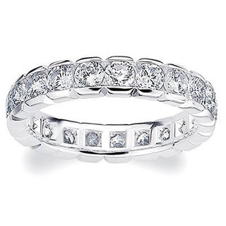 Amore Platinum 2ct TDW Diamond Eternity Band