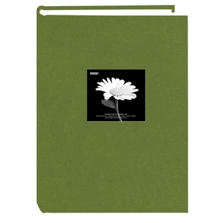 Pioneer Photo Album 300 Pocket Herbal Green Fabric Frame Cover Album