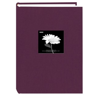 Pioneer 300 Pocket Wildberry Purple Fabric Frame Cover Album (Pack of 2)