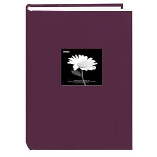 Pioneer 300 Pocket Wildberry Purple Fabric Frame Cover Album (Pack of 2)|https://ak1.ostkcdn.com/images/products/9609390/P16794819.jpg?impolicy=medium