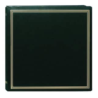 Pioneer Postbound Deluxe Boxed Hunter Green Leatherette Cover with 2 Bonus Refill Packs|https://ak1.ostkcdn.com/images/products/9609396/P16794824.jpg?impolicy=medium