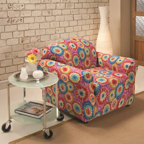 Sanctuary Stretch Jersey Tie-dye Chair Slipcover