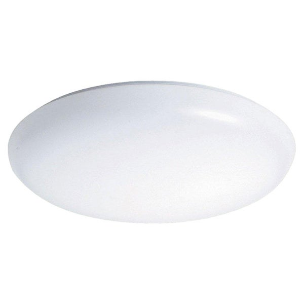 Raptor Lighting 1-light White Decorative Round Ceiling Fixture