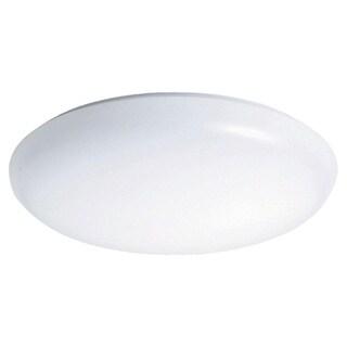 Raptor Lighting 1-light White Decorative Round Ceiling Fixture