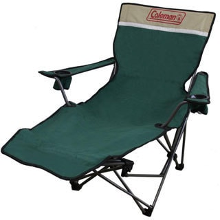Portable Green Reclining Lounge Chair
