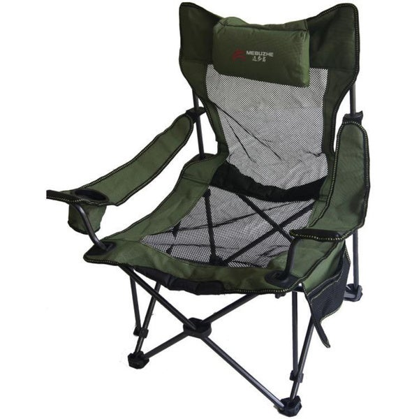 Portable Mesh Folding Green Chair