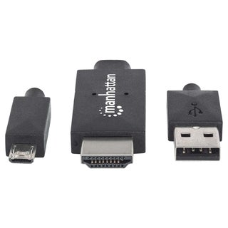 Manhattan Micro-USB 11-pin to HDMI, with USB type-A power