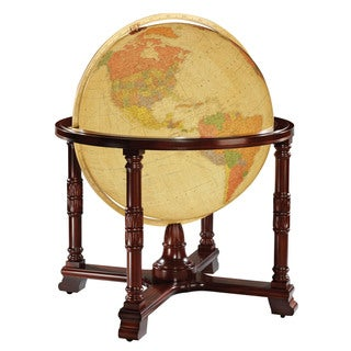 Diplomat Large Illuminated Floor World Globe