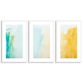 Gallery Direct Picsfive's 'Strokes of Color' Triptych Art