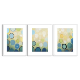 Gallery Direct Sean Jacobs' 'Sea Mist I' Triptych Art