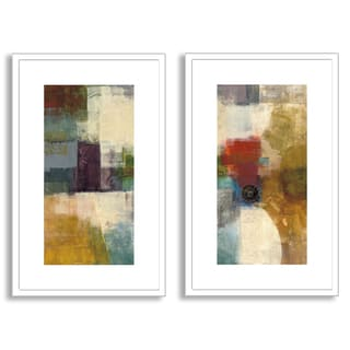 Gallery Direct Bailey's 'Apex I' Diptych Art
