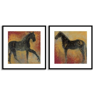 Gallery Direct Maeve Harris's 'Furioso I' and 'II' Art Two Piece Set